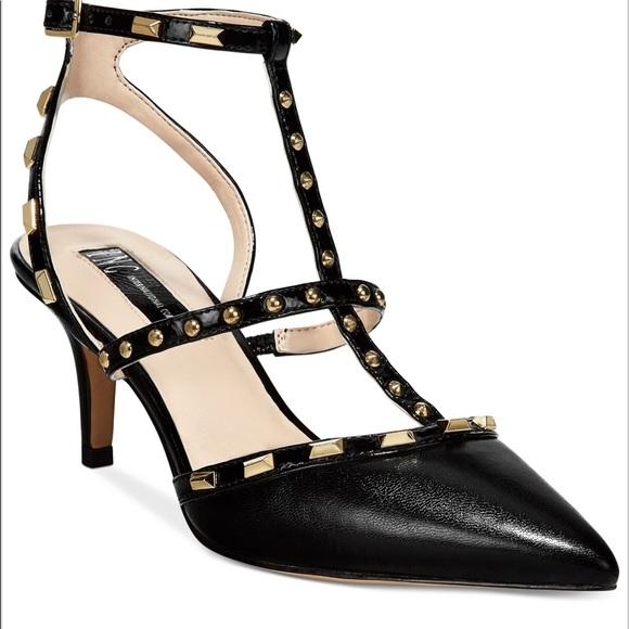 6883ec8f4c2 INC International Concepts Shoes - INC Studded Carma Pumps